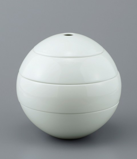 kilnart 球形 お重 白磁