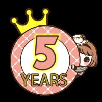 おかげさまでポセナビは5周年!!