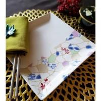 春は「和」の季節。金継ぎ風転写紙で日本の美しさをポーセラーツに